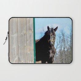 Percheron Horse by Teresa Thompson Laptop Sleeve