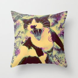 SID MICIUS Throw Pillow