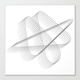 Neverending lines Canvas Print