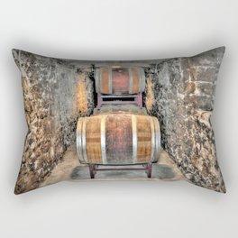 Wine Barrels Rectangular Pillow