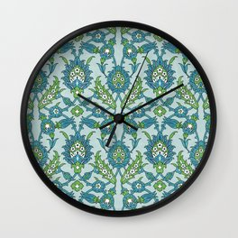 Floral ornament Wall Clock