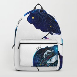 blowing  universe mind. Backpack
