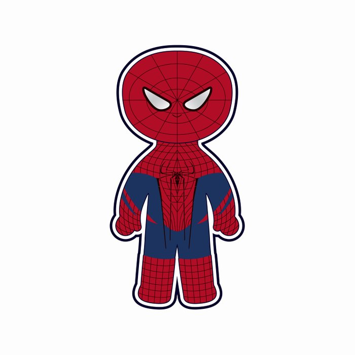 Chibi Spider-man Comforters