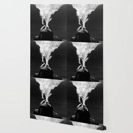 A New Year's Smoke (B&W) Wallpaper