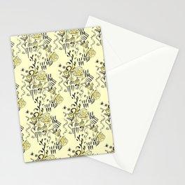 Storybook Kitsch Floral Pattern Stationery Cards
