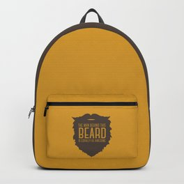 Behind the Beard Backpack