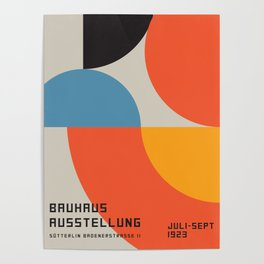Vintage poster-Bauhaus Ausstellung 1923. Poster