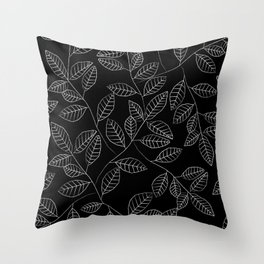 Little Leaves Throw Pillow