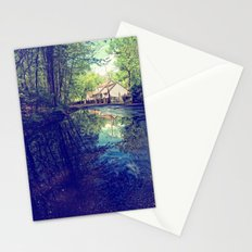 Country Lane Reflections Stationery Cards