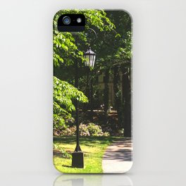 Wellesley Lamp Post iPhone Case