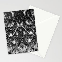 Mamba  Chief - Black and White Abstract Artwork Stationery Cards