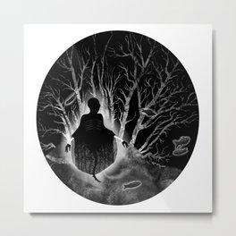 Fear On Display Metal Print