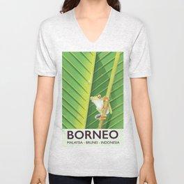 Borneo Unisex V-Neck