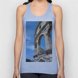 pula croatia ancient arena amphitheatre high Unisex Tank Top