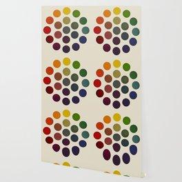 'Parsons' Spectrum Color Chart' 1912, Remake 2 (enhanced) Wallpaper