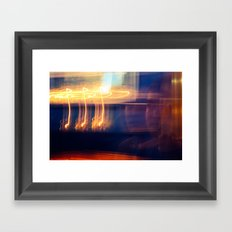 Sweet Fire Framed Art Print