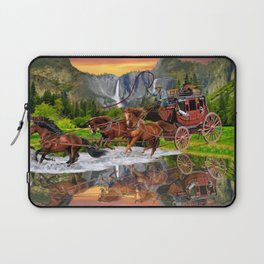 Wells Fargo Stagecoach Laptop Sleeve
