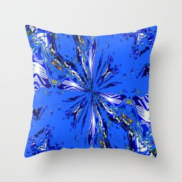 Blue by You! Throw Pillow