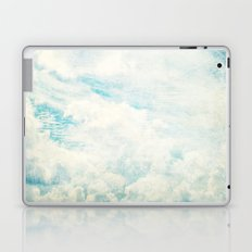 Somewhere | Beautiful Fluffy Clouds  Laptop & iPad Skin