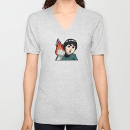 Burn Lee Unisex V-Neck