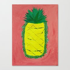 Pineapple of Liberty Canvas Print