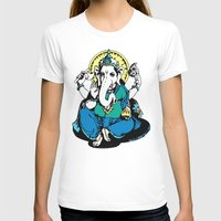ganesha T-shirts featuring Ganesha by Julie Rose Design