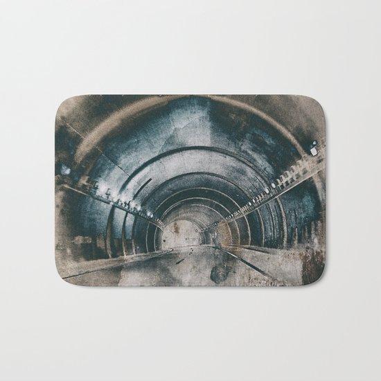 Tunnel of life Bath Mat