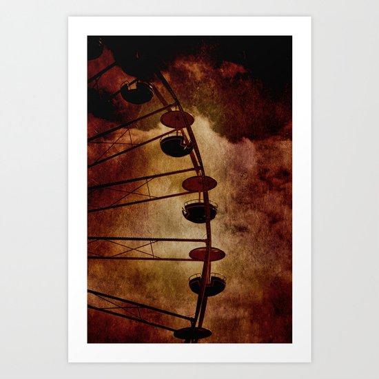 Gondeln Art Print
