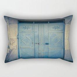 Blue Door II Rectangular Pillow
