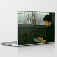 grantaire Laptop & iPad Skins featuring Grantaire by rdjpwns
