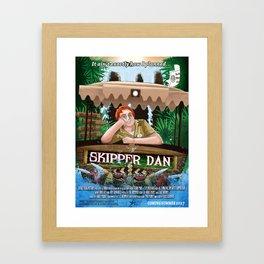 Skipper Dan Framed Art Print