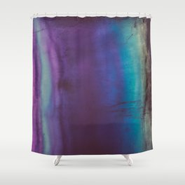 Bohemian Blue Earth Shower Curtain