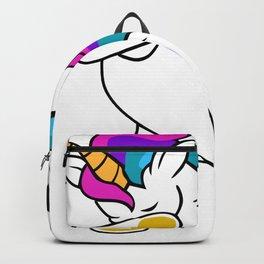 Dabbing Unicorn Soccer Backpack