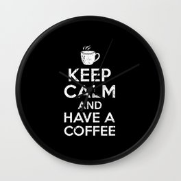 Coffee Gift Wall Clock