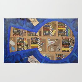 My Dream Library Rug