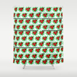 Roses VIII-A Shower Curtain