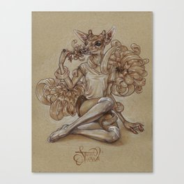 Under a Spell Canvas Print