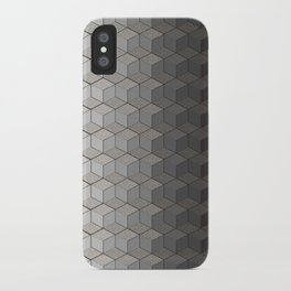 Pattern #6 Greyscale iPhone Case