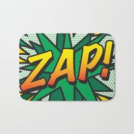 Comic Book ZAP! Bath Mat
