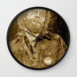 Gay Love It's the Real Thing! Wall Clock