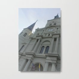 Cathedral Perspective Metal Print