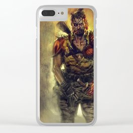Ronin Snake Clear iPhone Case