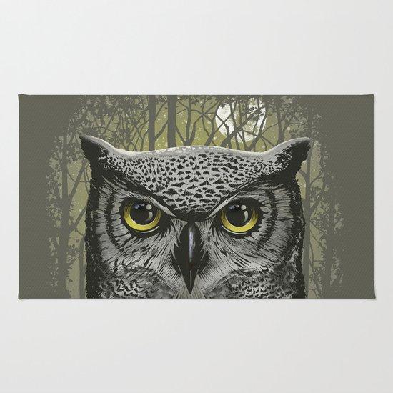 Moon Owl Rug