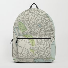 Vintage Map of New Haven Connecticut (1901) Backpack
