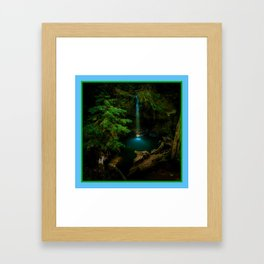 Big Basin Redwood State Park, Boulder Creek, CO Framed Art Print