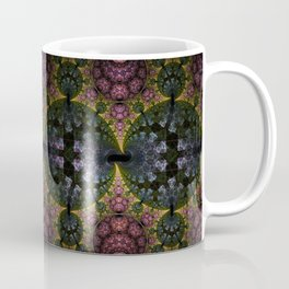 Fractal Abstract with orbs and tribal patterns Coffee Mug