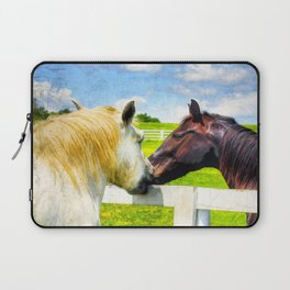 Barn Yard Kisses Laptop Sleeve