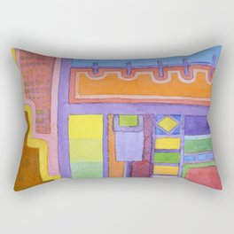 The Balcony  Rectangular Pillow