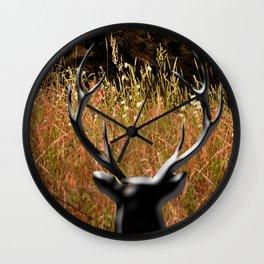 Deer Country Wall Clock