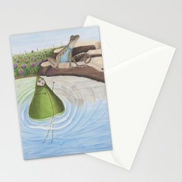 A Lizard's Tale Stationery Cards